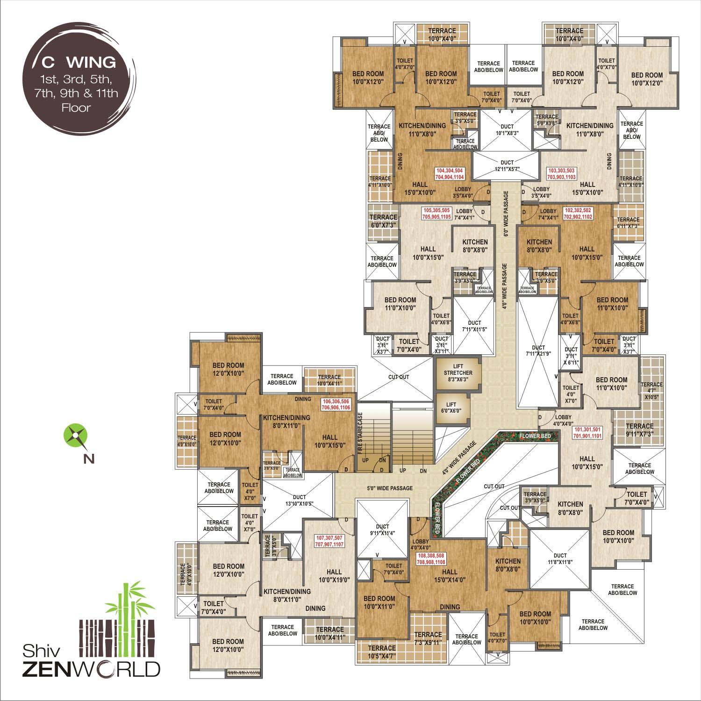 Shiv Zenworld 1 Bhk 2 Bhk Flats Apartments In Manjri